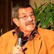 Foto Günter Grass in der Aula am Wilhelmsplatz